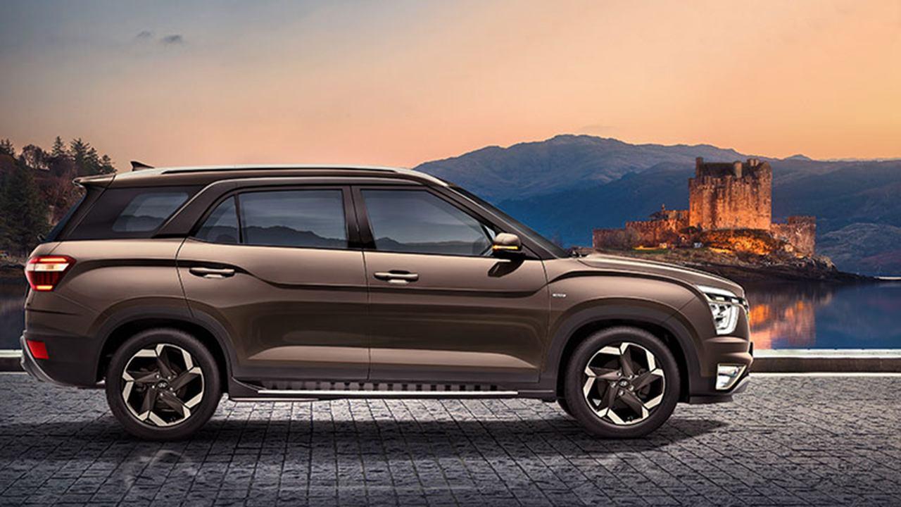 Hyundai Alcazar - lateral