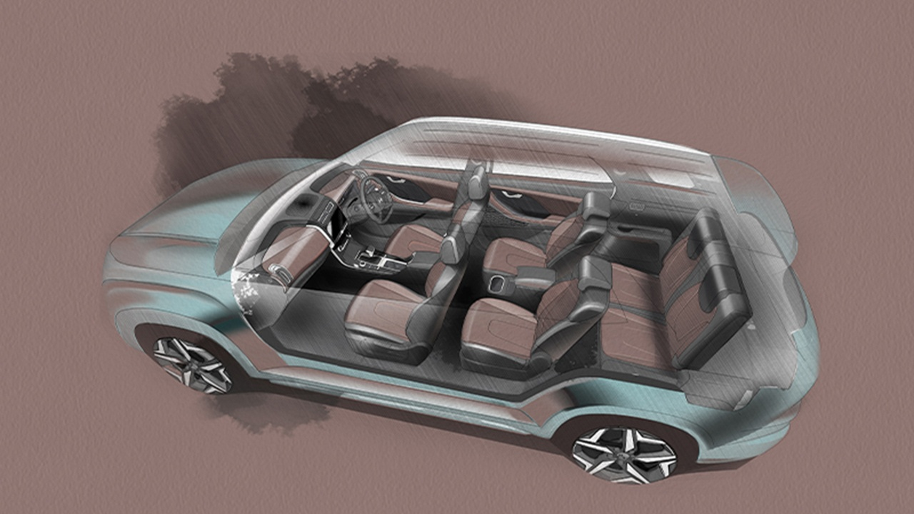Hyundai Alcazar - interior