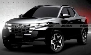 El Hyundai Santa Cruz se destapa al completo en sus primeras imágenes