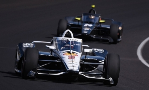 Frenético final de test en Indianápolis, con Josef Newgarden al frente