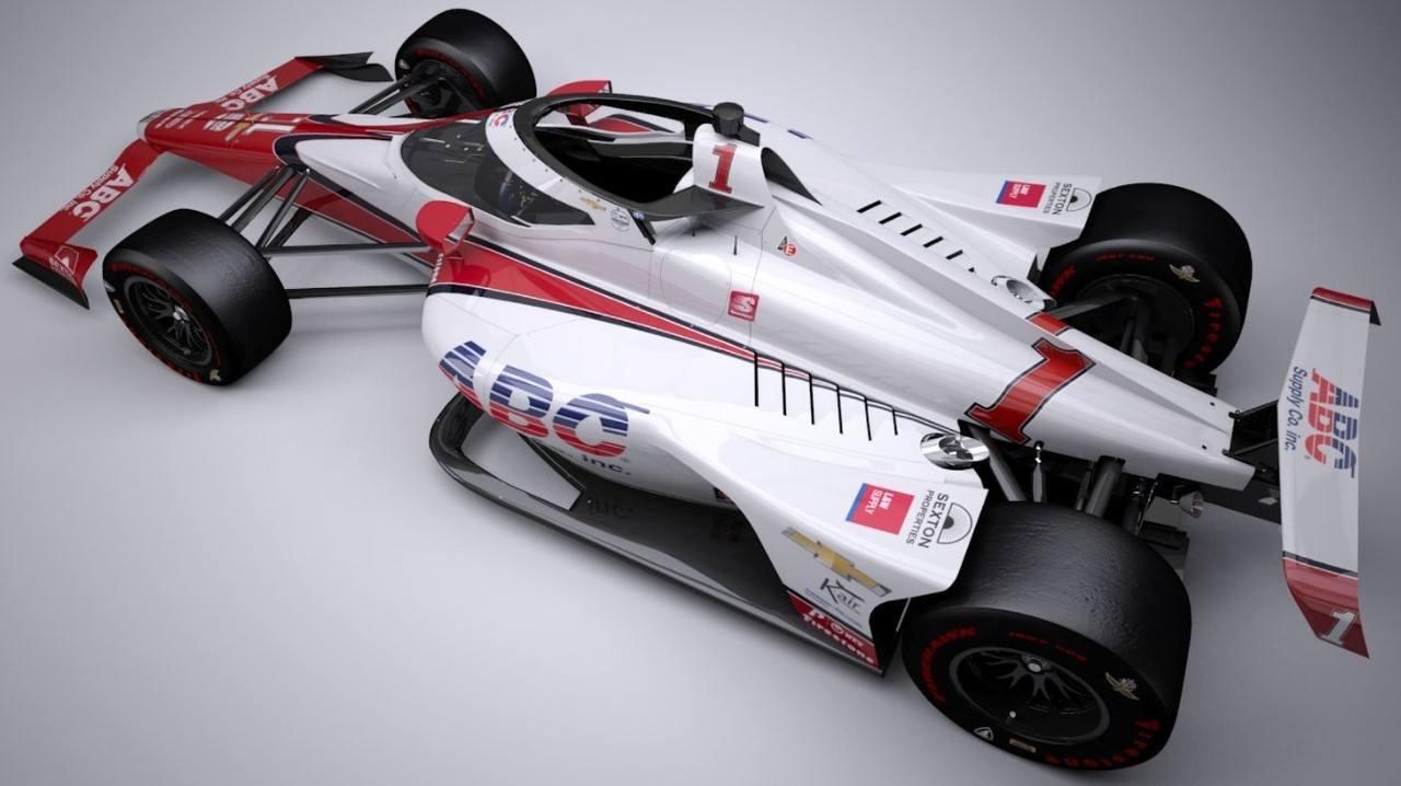 J. R. Hildebrand pilotará el cuarto coche de Foyt... ¡con el número 1!