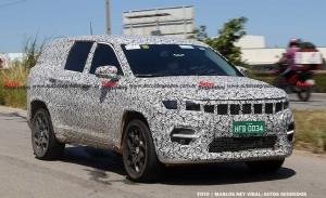 El futuro SUV de 7 plazas basado en el Jeep Compass cazado con menos camuflaje