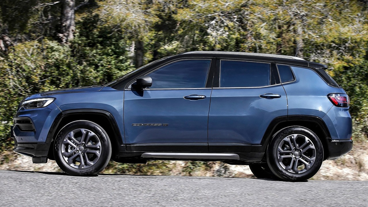 Jeep Compass 80th Anniversary - lateral