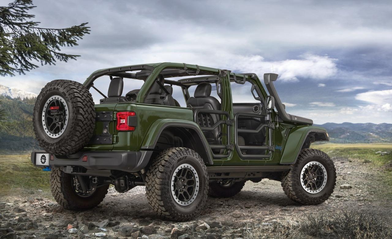 El Jeep Wrangler 4xe estrena nuevo esquema de suspensión off-road de Mopar