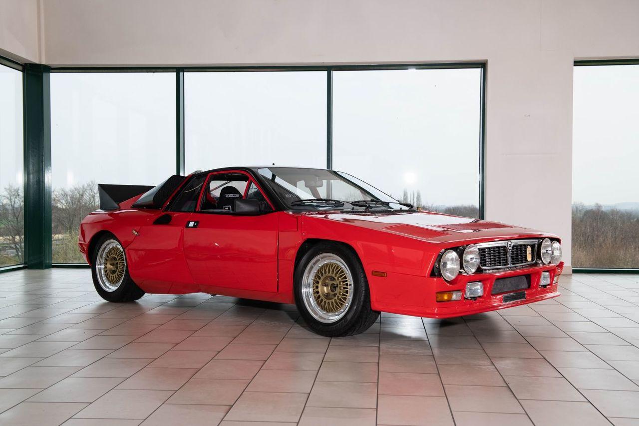 Una leyenda a subasta: el primer prototipo del Lancia 037 Rally de Abarth