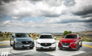 Gama SUV de Mazda, descubre al detalle los CX-3, CX-30 y CX-5 (con vídeo)