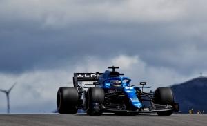 El mejor viernes de Alonso en 2021: «Contento con el coche desde el principio»