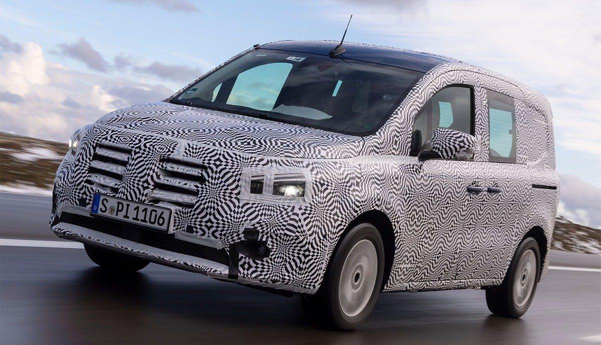 El nuevo Mercedes eCitan llegará en 2022 con un conjunto eléctrico de Renault