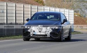 Primeras fotos espía del nuevo Mercedes-AMG EQS 2022 al desnudo