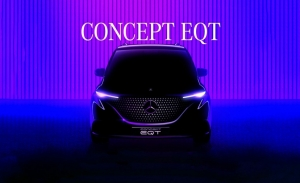 Teaser del Mercedes Concept EQT, un anticipo casi de producción debuta en mayo