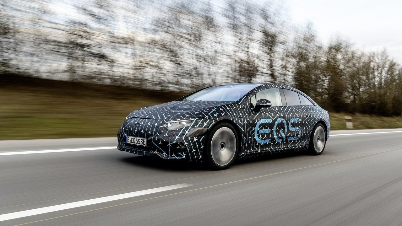 Mercedes desvela nuevos datos de las baterías y las potencias del futuro EQS