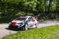 Elfyn Evans lidera el shakedown del Rally de Croacia con el Toyota Yaris