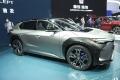 Así luce en vivo el nuevo Toyota bZ4X en su stand de Shanghái