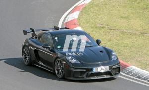 Escucha el rugido del nuevo Porsche 718 Cayman GT4 RS definitivo en Nürburgring