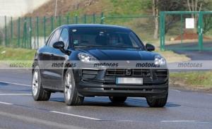 Los prototipos del Porsche Macan Facelift 2022 descubren su nueva imagen
