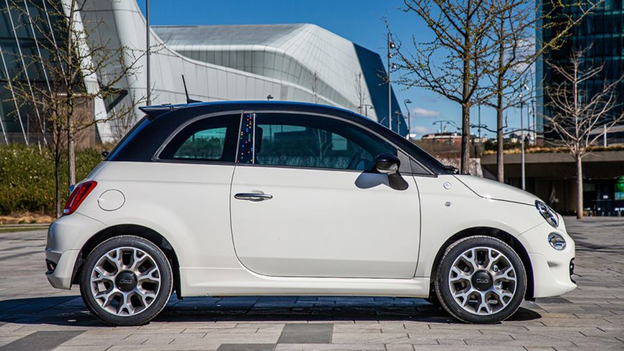 FIAT 500 Hey Google - lateral