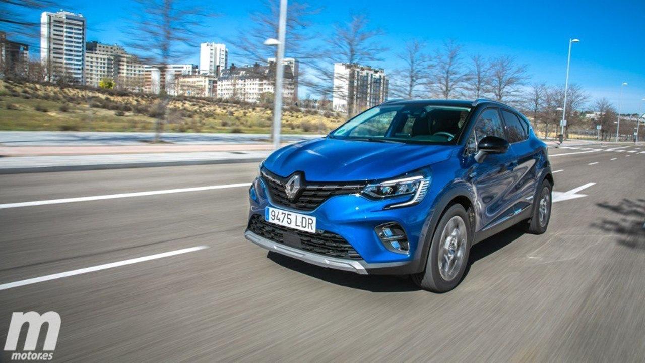 El Renault Captur E-Tech Hybrid, con mecánica híbrida, ya tiene precios en España