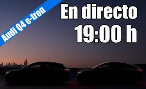 Sigue en directo la presentación de los Audi Q4 e-tron y Q4 Sportback e-tron