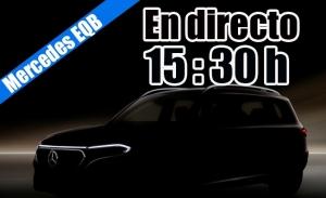 Sigue en directo la presentación del nuevo Mercedes EQB 2021