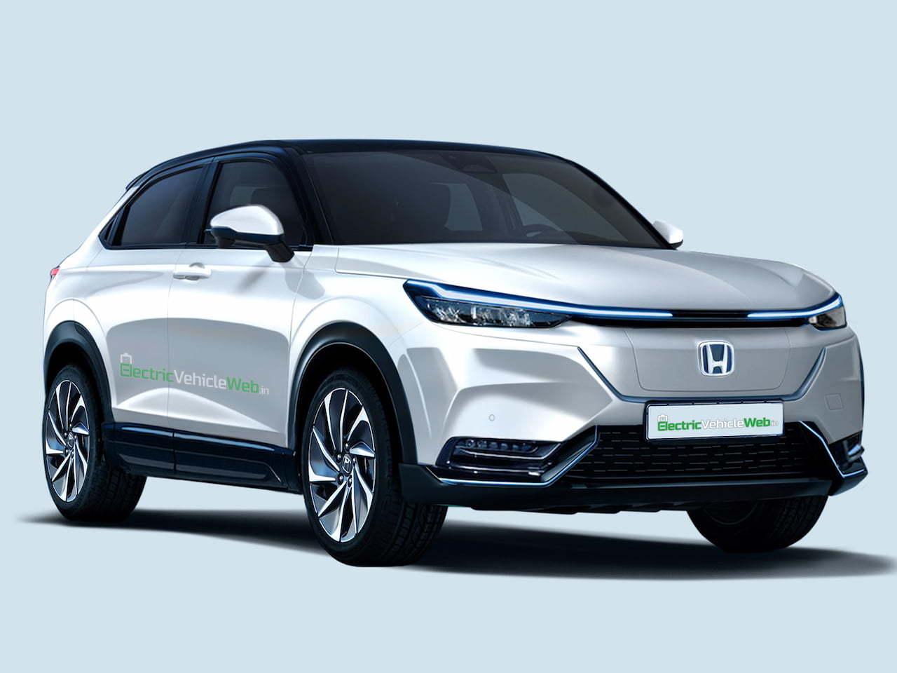 Adelanto de la futura variante definitiva del Honda HR-V eléctrico
