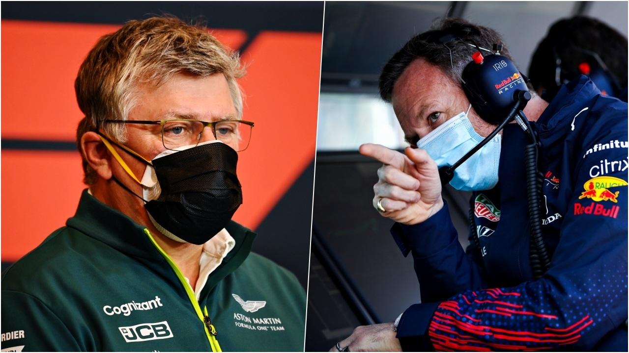 Red Bull califica 'los lloros' de Aston Martin de «ingenuos»