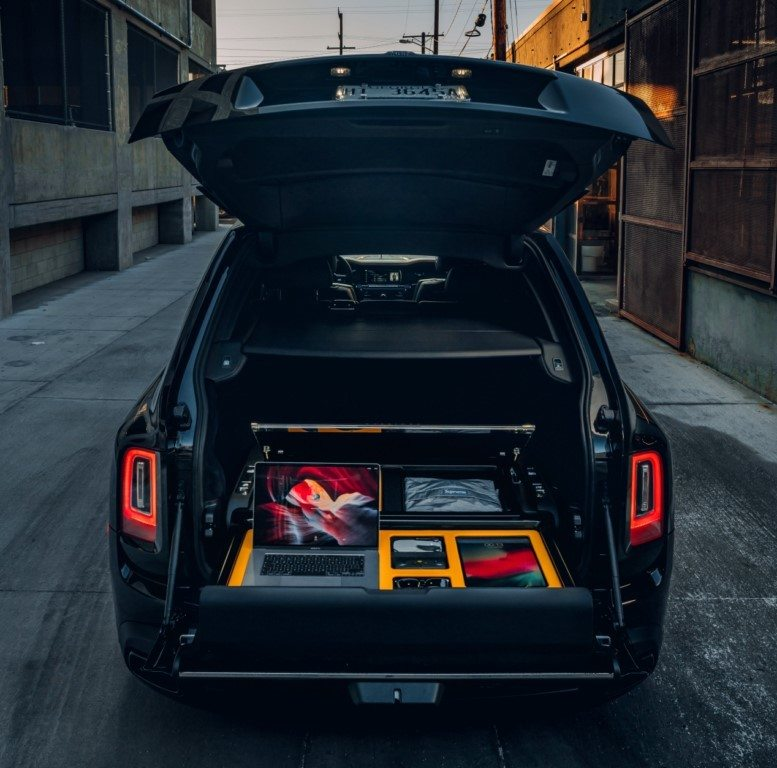 Foro Rolls-Royce Cullinan - interior