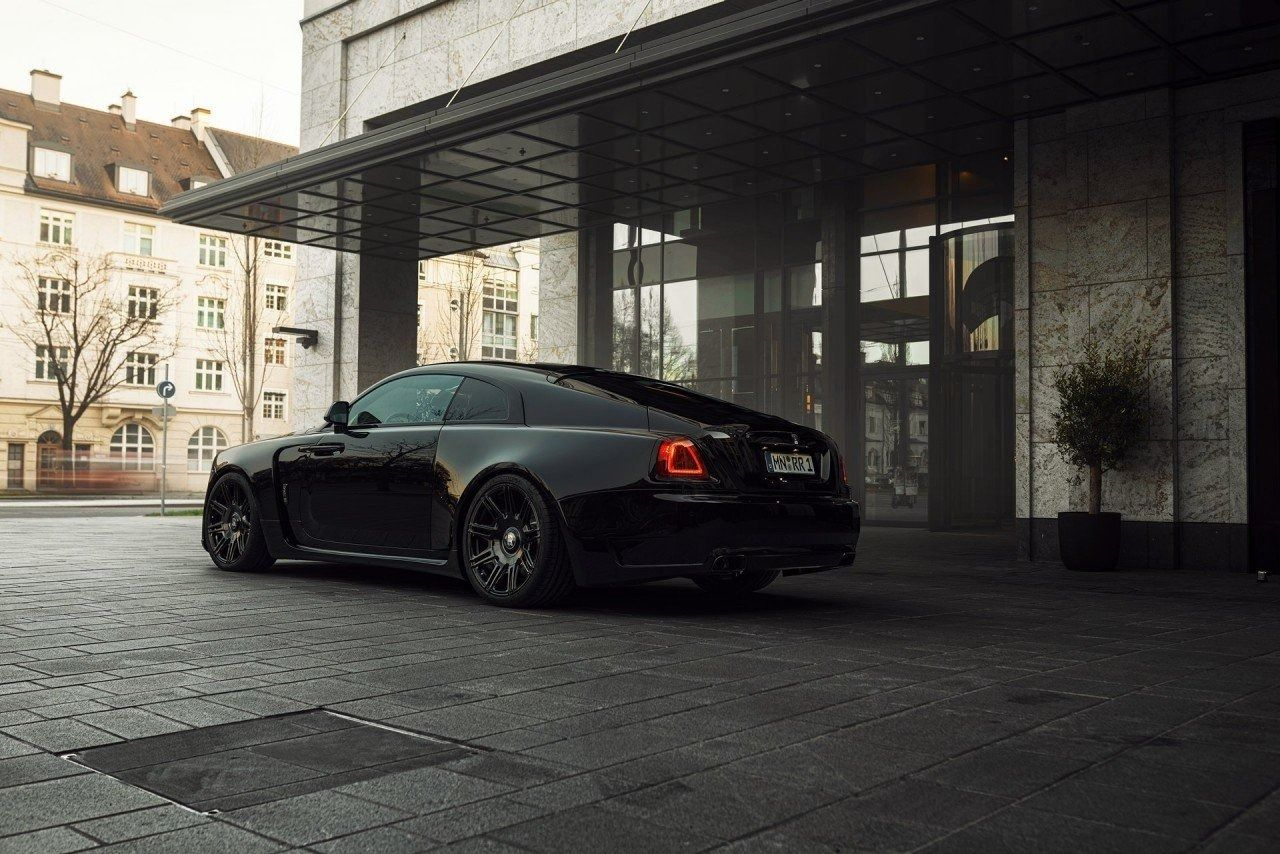 Foto SPOFEC Overdose Rolls-Royce Wraith Black Badge - exterior
