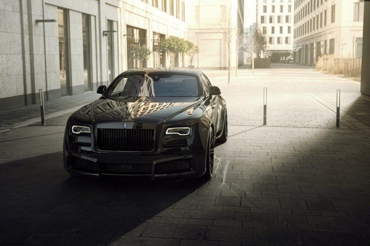 Spofec Overdose, nueva vuelta de tuerca al exclusivo Rolls-Royce Wraith Black Badge