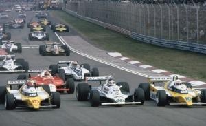 Su primer Gran Premio de Fórmula 1: Imola, Italia 1980