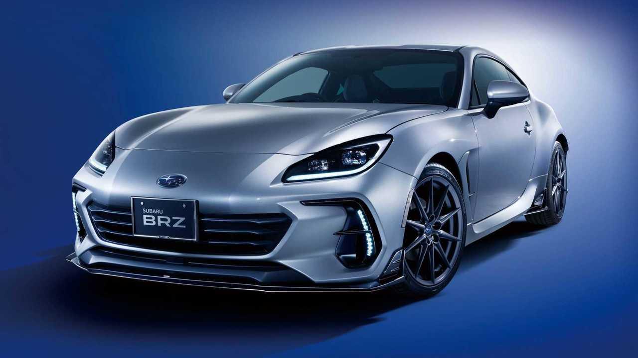 El Subaru BRZ 2022 luce mucho más agresivo con sus nuevos accesorios oficiales