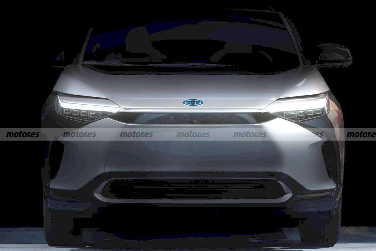 Toyota revela la primera imagen y la fecha de presentación de su nuevo SUV eléctrico