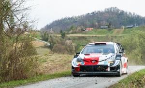 Toyota quiere dar un golpe en la mesa en el asfalto del Rally de Croacia