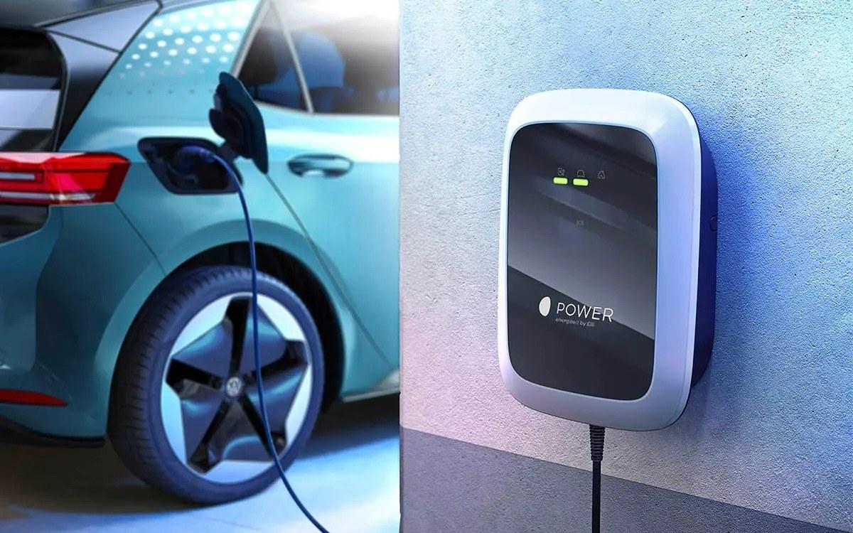 Cargador para coches eléctricos de Volkswagen