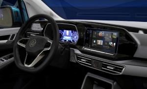 El control de voz Alexa de Amazon llega al nuevo Volkswagen Caddy