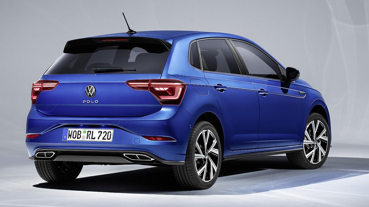 Volkswagen Polo 2021 - posterior