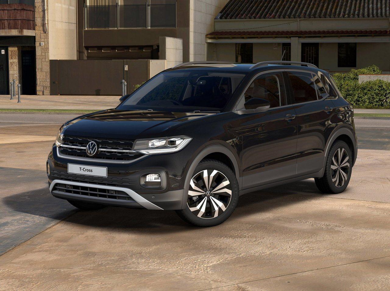 El Volkswagen T-Cross también va a contar con una versión Black Edition