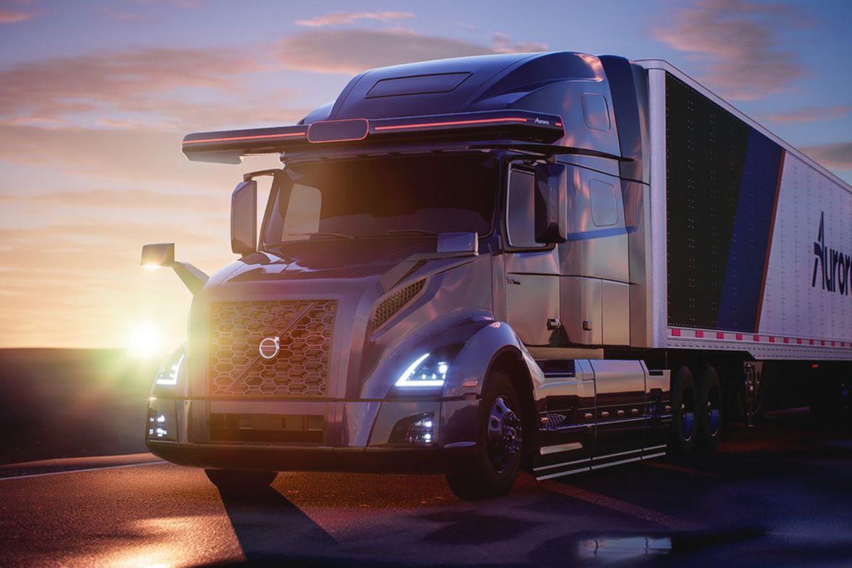 Volvo Trucks y Aurora van a desarrollar camiones completamente autónomos