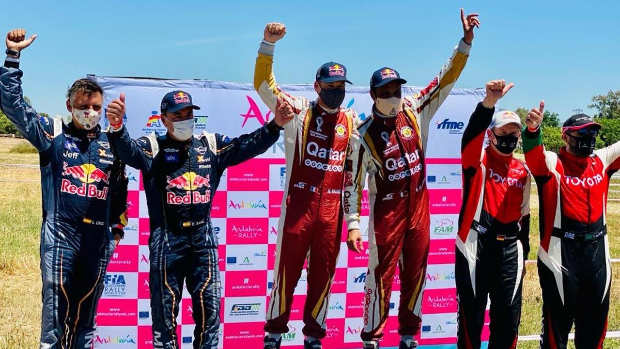 Al-Attiyah, Barreda y Gutiérrez se imponen en el Andalucía Rally 2021