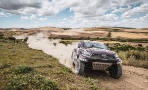 Al-Attiyah y Santolino conquistan la primera etapa del Andalucía Rally