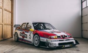 Espectacular ejemplar del exitoso Alfa Romeo 155 V6 de Martini Alfa Corse en venta