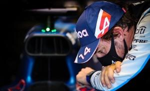 Los 'celos' de Alonso con el primer podio de Sainz en Ferrari: «Antes quedar segundo era un funeral»