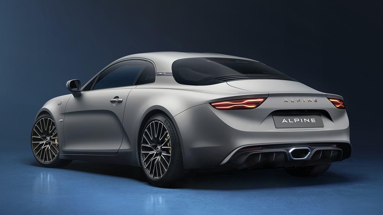 Alpine A110 Légende GT 2021 - posterior