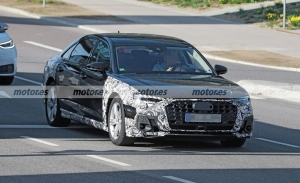 Nuevas fotos espía del Audi A8 Facelift 2022, cazado en las cercanías de Ingolstadt