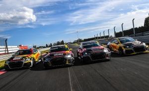 Audi y Comtoyou desvelan los colores de sus cuatro Audi RS 3 LMS del WTCR