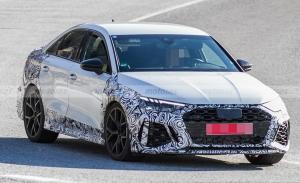 El nuevo Audi RS 3 Sedán con 400 CV completa su desarrollo en el sur de Europa