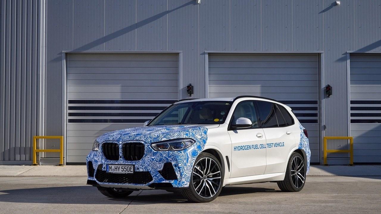 Prototipos del BMW X5 propulsados por hidrógeno, listos para las primeras pruebas reales