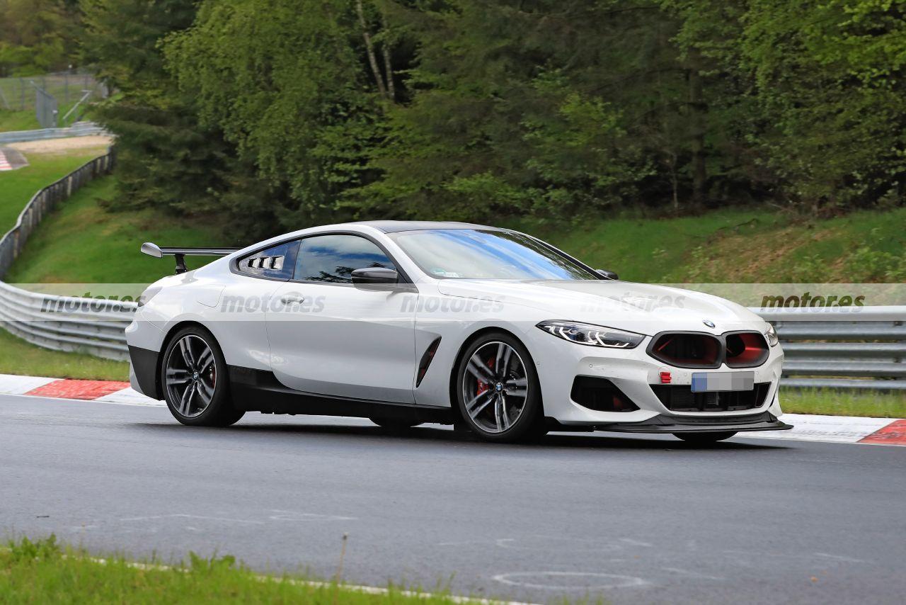 Foto espía BMW M8 CSL 2022 en Nürburgring - exterior