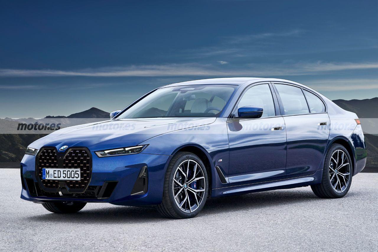 BMW Serie 5 2024, se avecina una revolución estética adelantada en esta recreación