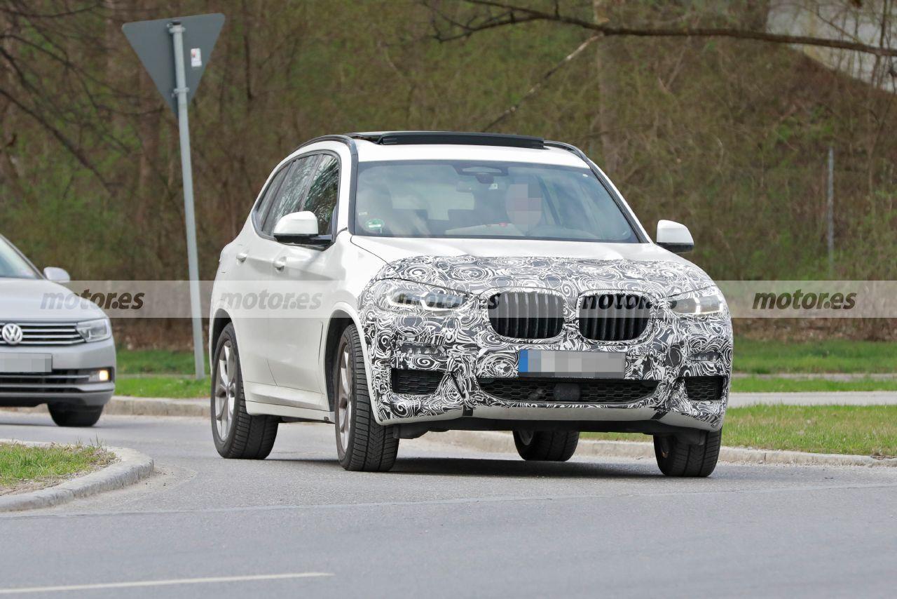 Nuevas fotos espía del BMW X3 LCI 2022, los prototipos del SUV bávaro se destapan