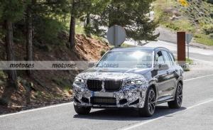 El nuevo BMW X3 M 2022 pierde camuflaje en estas fotos espía